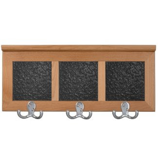 Black Lava Coat Rack