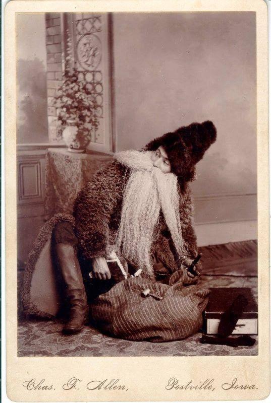 1890s Santa