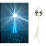Eliminator Lighting Decor MBSK Mirror Ball Stand Kit