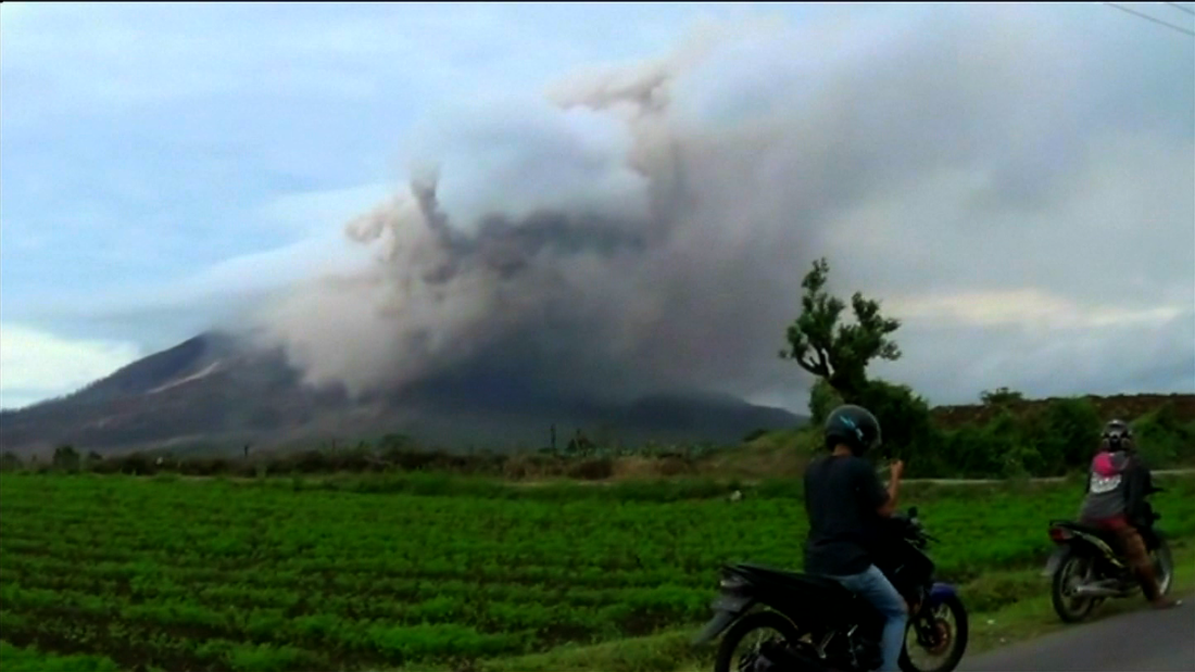 Indonesian volcano on the verge of a major eruption  CNN Video