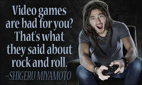 Video Games Quotes