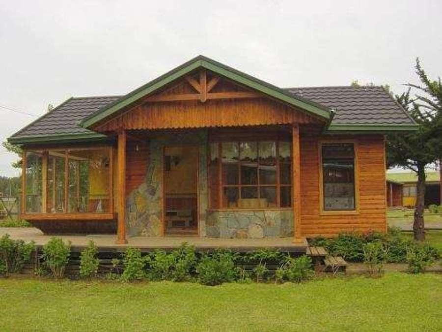 Casas de madera prefabricadas casa prefabricada v region - Casas prefabricada de madera ...