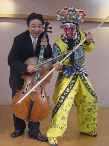 把美猴王與大提琴音樂結合的音樂會。(照片:張正傑提供)
