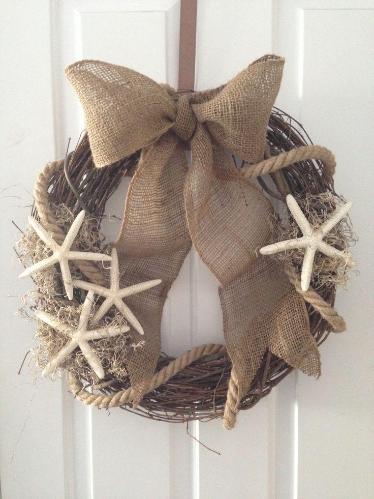 Loving this beach wreath by Kismet!!! #shopbm
