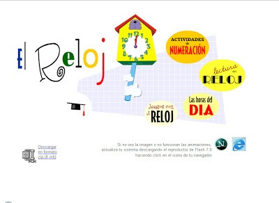 BANCO TIC | Juegos con el reloj