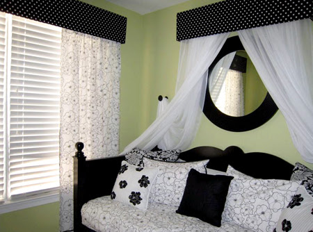 Black and white BedRooms .. Chic & classy! <3 | PinkMaiooona