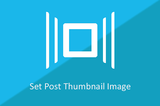 Set Featured Thumbnail Image of Post WP - WordPress Theme Store - InsertCart