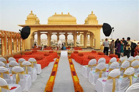 Pictures of Wedding at Chunda Palace in Udaipur