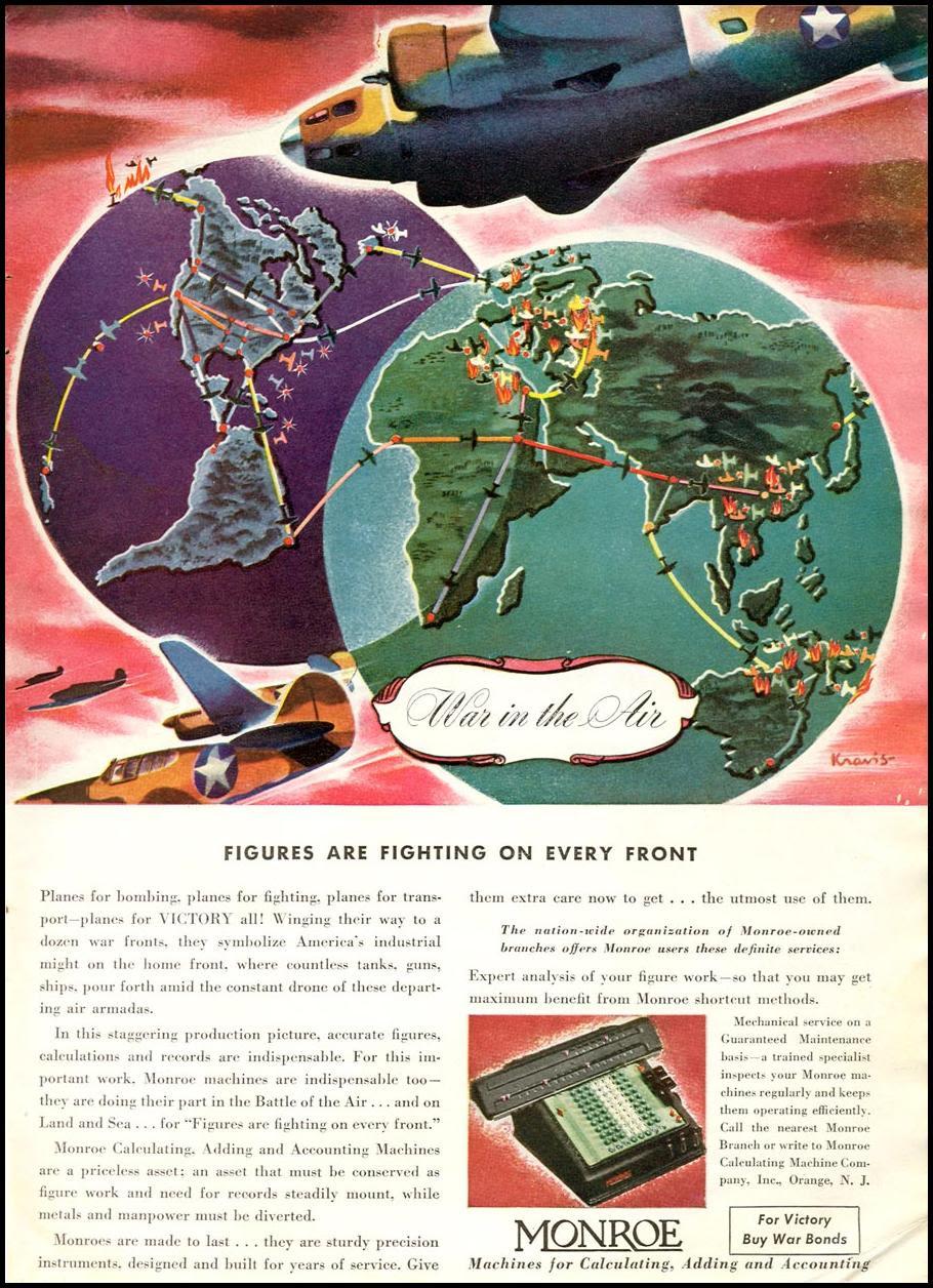 MONROE CALCULATORS TIME 12/28/1942 p. 63