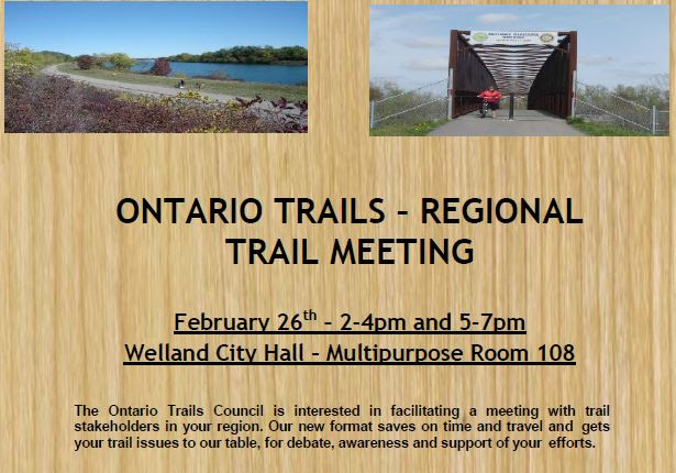 welland trail meeting