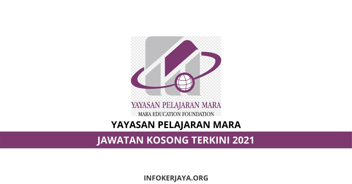 Jawatan Kosong Yayasan Pelajaran MARA • Jawatan Kosong Terkini