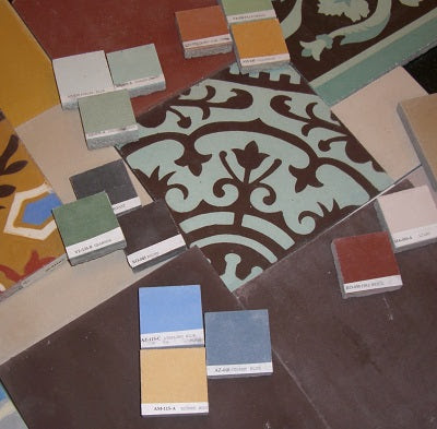 A Step-by-Step Guide to Customizing Cement Tile Colors