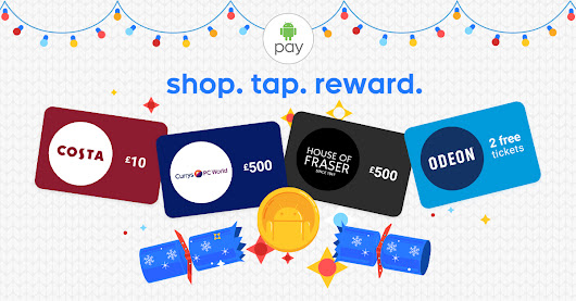 Android Pay - shop. tap. reward.