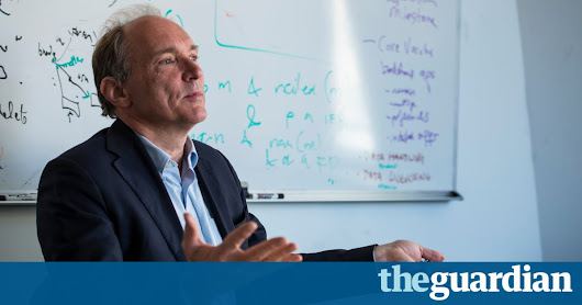 Tim Berners-Lee: selling private citizens' browsing data is 'disgusting' | Technology | The Guardian