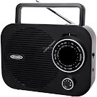 Jensen MR-550 Portable Radio - Black