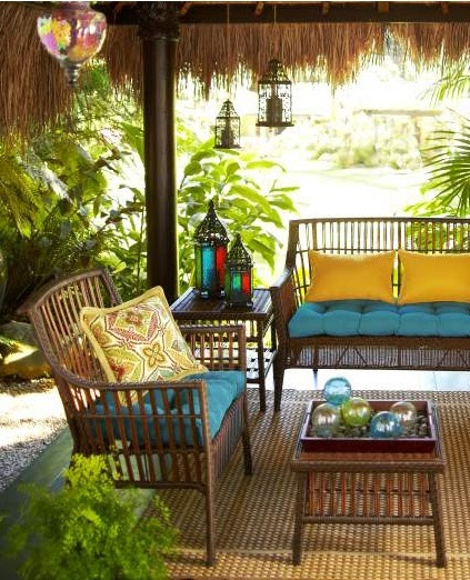 Colorful Outdoor Rooms: Best Outdoor Living Rooms: Create The Perfect Outdoor