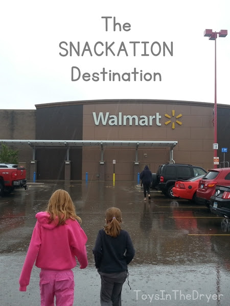 Snackation On The River with Smuckers and Walmart #ad