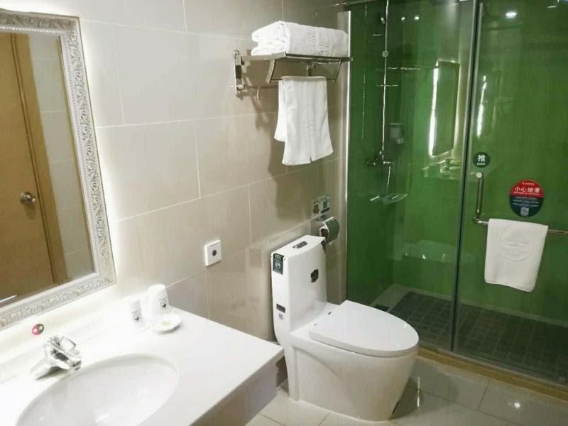 Review GreenTree Inn Beijing Fangshan District Liangxiang Yancun East Metro Station Express Hotel