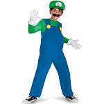 Super Mario Luigi Deluxe Child Costume