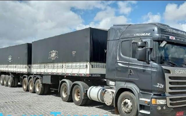 Polícia Civil recupera carreta bitrem e carga avaliada em R$ 100 mil