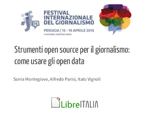 Software open source per l'uso di open data