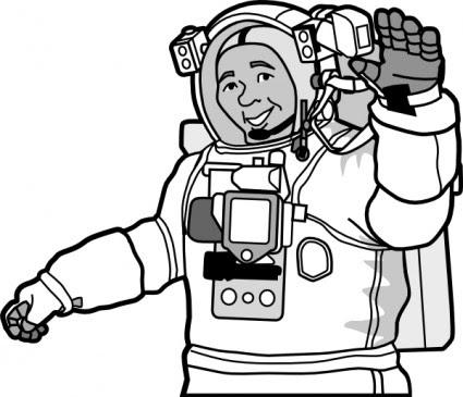 Astronot Clip Art Vektor Clip Art Vektor Gratis Download Gratis