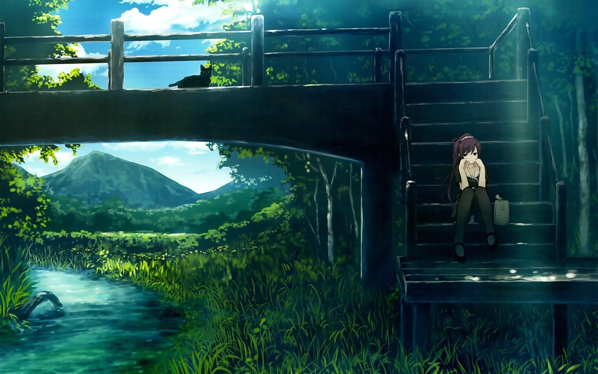 Unduh Kumpulan Wallpaper Alam Anime HD Gratis