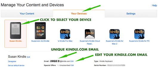 Easily Send/Receive Files on Kindle Devices: Amazon Send to Kindle - Unruly Guides.