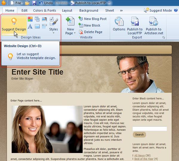 art ss 03 Program untuk Membuat Template Blog Sendiri