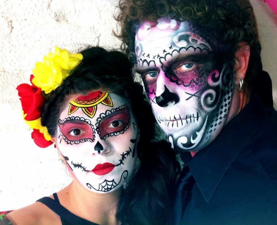 Dia De Los Muertos Makeup Man Traffic Club