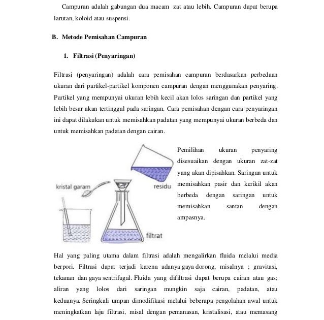 Contoh Pemisahan Campuran Kristalisasi Xmast 3