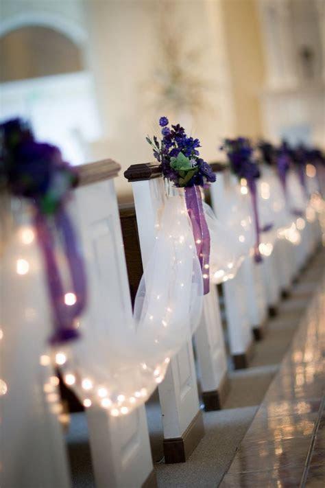 17 Best ideas about Church Pew Decorations on Pinterest