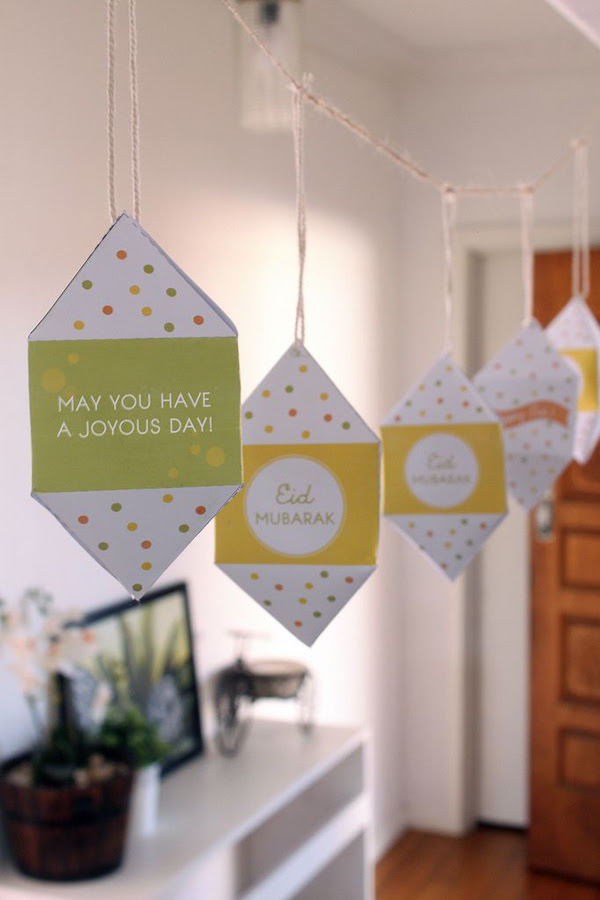 15 Beautiful Eid  Mubarak Craft Ideas  Home  Design And