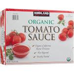Kirkland Signature Organic Tomato Sauce - 12 pack, 15 oz cans
