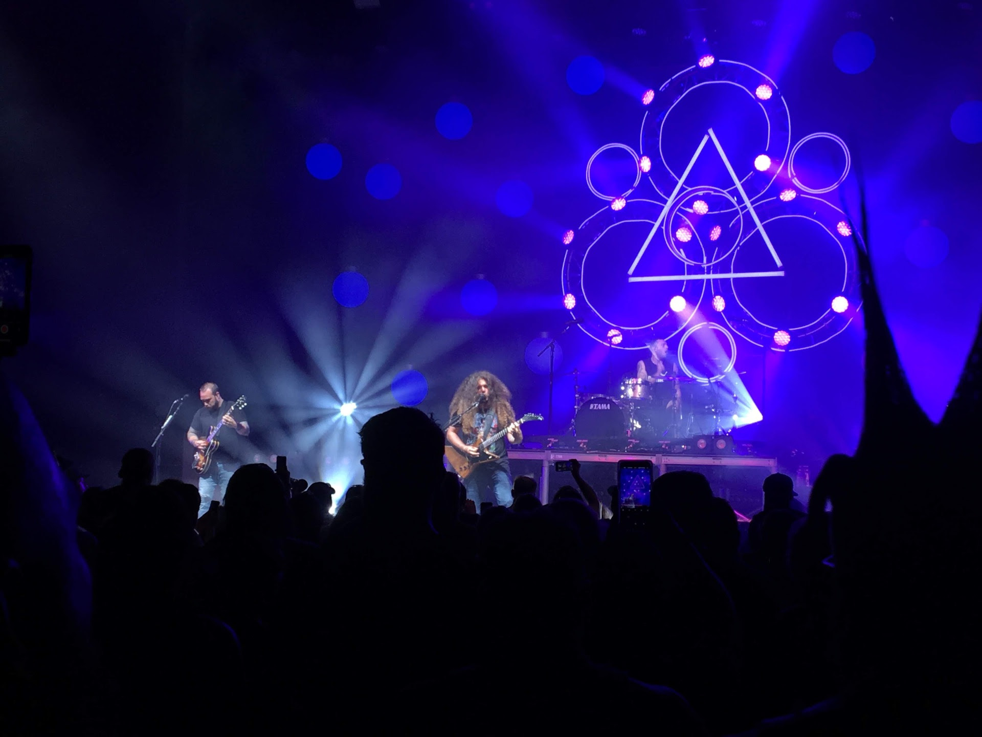 Cadence Bank Amphitheatre Section Pit R Row 13 Seat 10 Coheed
