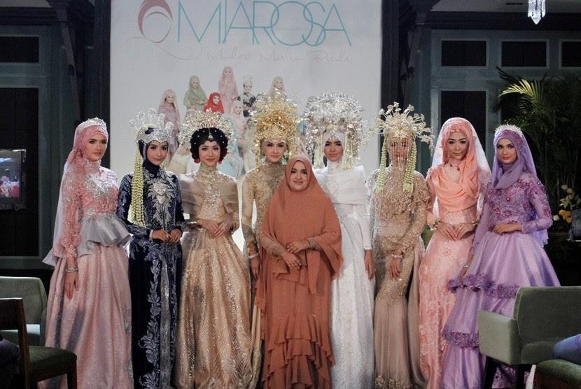 Miarosa Hadirkan Koleksi Busana Pengantin Muslimah