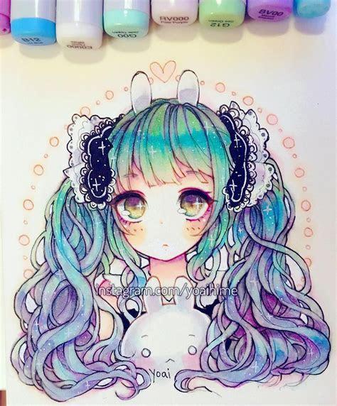 pin  caylin  art dessin promarker dessin manga