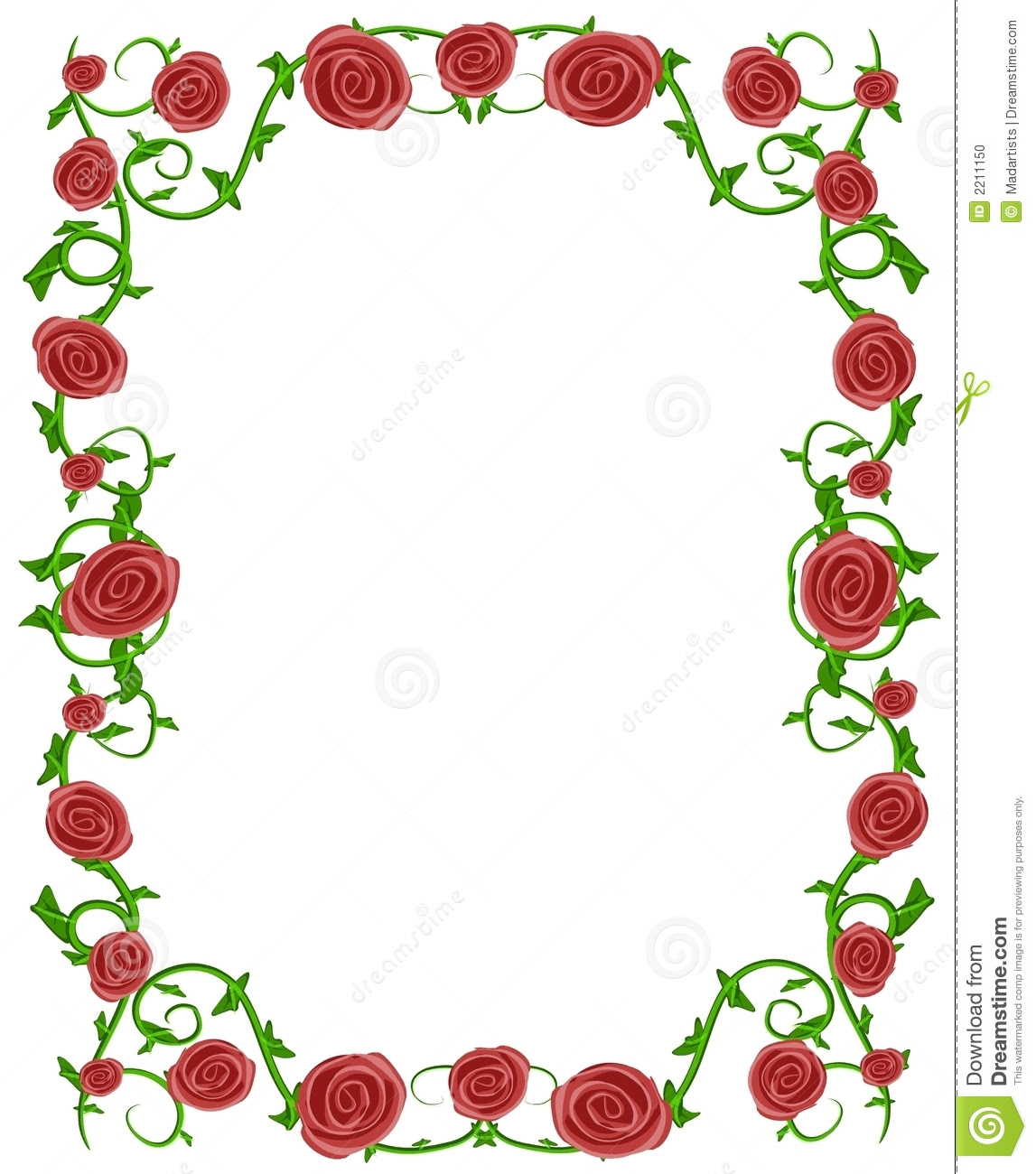 pink flower border clip art red roses floral photo frame 2211150