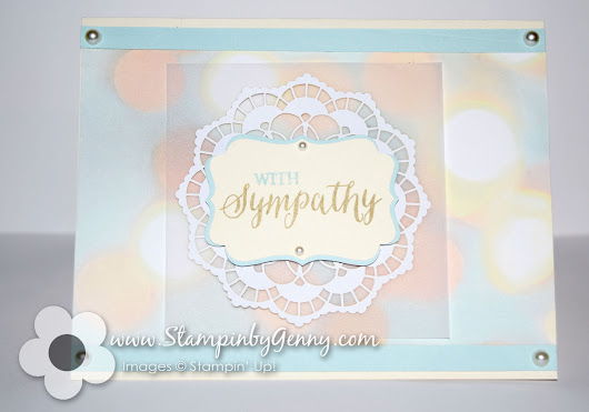 Falling in Love Suite Sympathy Card