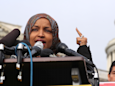 Ilhan Omar's Republican opponent was banned from Twitter after suggesting the congresswoman should be tried for treason and hanged