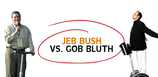 7 Ways Jeb Bush and Gob Bluth Are the Same Person