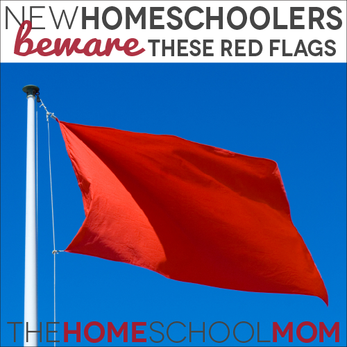 New Homeschoolers, Beware