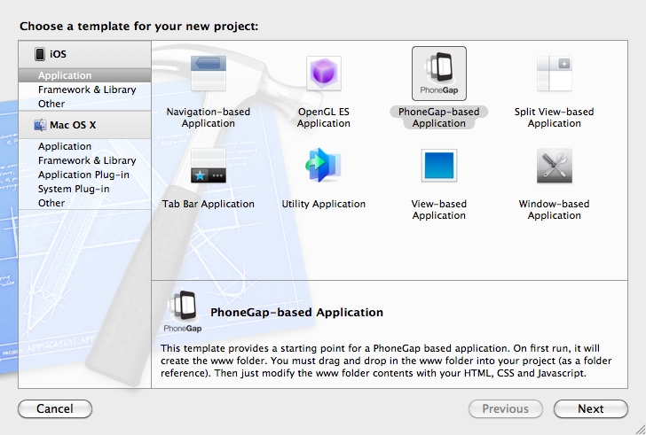 phonegap project template - 2011 building a jquery mobile html5 app with phonegap for