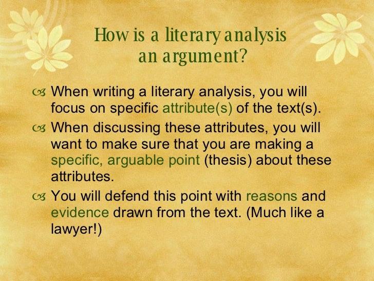 how to write a literary analysis essay wiki