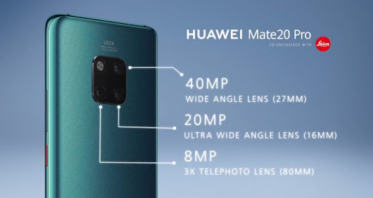 Huawei Mate 20 and Mate 20 Pro official with Kirin 980 and triple cameras - GoAndroid