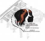 Moscow Watchdog Intarsia or Yard Art Woodworking Plan - fee plans from WoodworkersWorkshop® Online Store - Moscow Watchdog dogs,pets,animals,dog breeds,intarsia,yard art,painting wood crafts,scrollsawing patterns,drawings,plywood,plywoodworking plans,woodworkers projects,workshop blueprints
