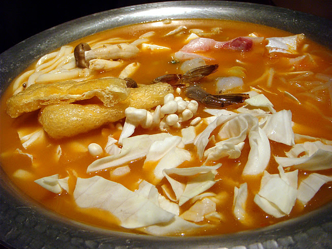 Spicy Seafood Hotpot