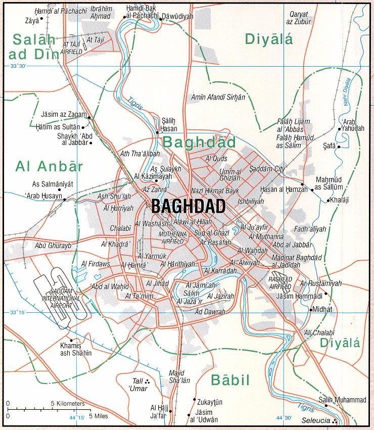 Baghdad Map