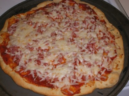 Three Cheese Pizza for WCB
