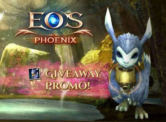 Echo of Soul Phoenix Free Item Giveaway, EoS is a FREE to Play MMO